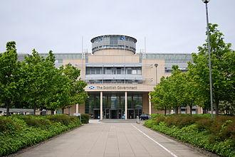 Scottish Government - Victoria Quay, a Scottish Government building in Leith, Edinburgh.