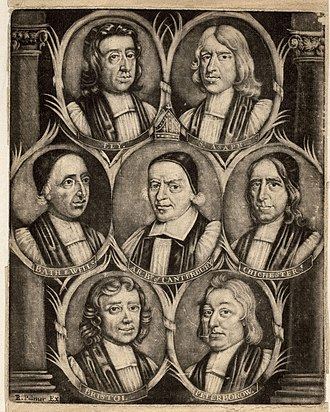 Thomas Ken - Group portrait of the Seven Bishops