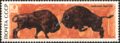 The Soviet Union 1969 CPA 3796 stamp (European Bisons).png