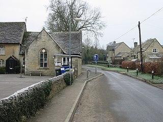 Oaksey Village in Wiltshire