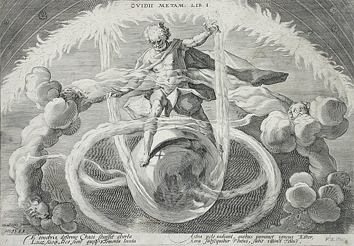 The Untangling of Chaos, or the Creation of the Four Elements LACMA 54.70.1a
