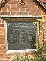 The War Memorial, St James Church, Dengie - geograph.org.uk - 1417422.jpg