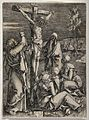 The crucifixion of Christ; St. John and the four women lamen Wellcome V0034780.jpg