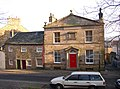 The former dispensary and adjoining cottages, Castle Hill, Lancaster - geograph.org.uk - 651195.jpg