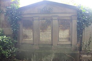 Gordon Holmes Alexander MacMillan - The grave of General Sir Gordon MacMillan, Newington Cemetery, Edinburgh.