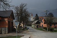 The look to the town-village Předín - panoramio.jpg