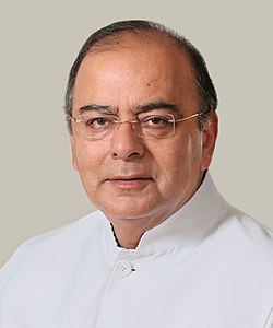 The official photograph of the Defence Minister, Shri Arun Jaitley.jpg