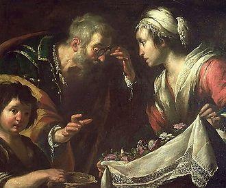 Zita - Miracle of Saint Zita by Bernardo Strozzi