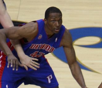 Theo Ratliff - Ratliff with the Pistons in 2008