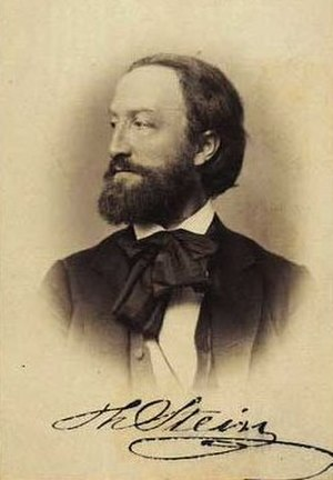 Theobald Stein - Theobald Stein photographed by Budtz Müller