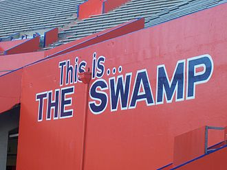"Ben Hill Griffin Stadium - Steve Spurrier dubbed Florida Field ""The Swamp"" in 1992"