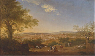 A Panoramic View of Florence from Bellosguardo