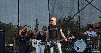 Tiamat (band) - Tiamat performing at Kavarna Rock Fest 2011