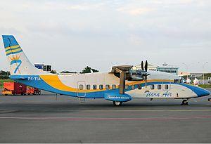 Short 360 - A Tiara Air Short 360 at Aruba Airport