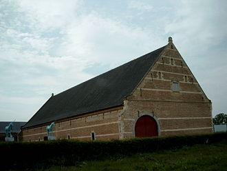 Herkenrode Abbey - Image: Tiendschuur