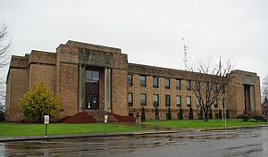 Tillamook County, Oregon - Image: Tillamook County Courthouse Oregon