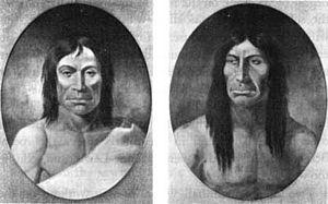 Whitman massacre - Tiloukaikt and Tomahas, Cayuse chiefs