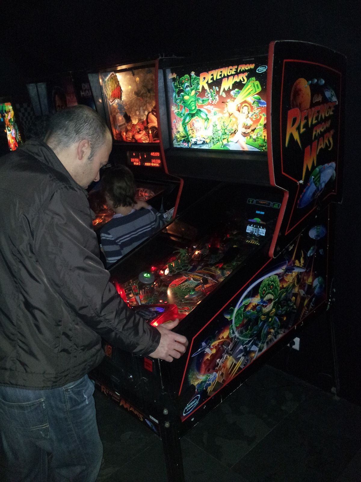 Star Wars Pinball Machine >> Revenge from Mars - Wikipedia