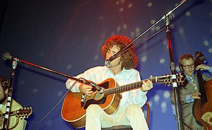 Tim Buckley performing at the Fillmore East on October 18, 1968