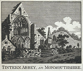 Tintern Abbey, in Monmouthshire
