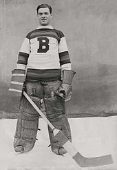 e7723fd9f Tiny Thompson was the goaltender for the Bruins from 1928 to 1938. He  helped the team win its first Stanley Cup in 1929.