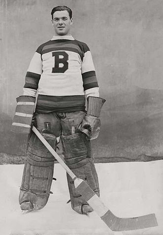 Boston Bruins - Tiny Thompson was the goaltender for the Bruins from 1928 to 1938. He helped the team win its first Stanley Cup in 1929.