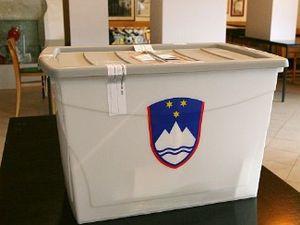 Tiobox transparent plastic ballot box used for...