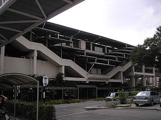 Titiwangsa station rapid transit interchange station in Kuala Lumpur, Malaysia