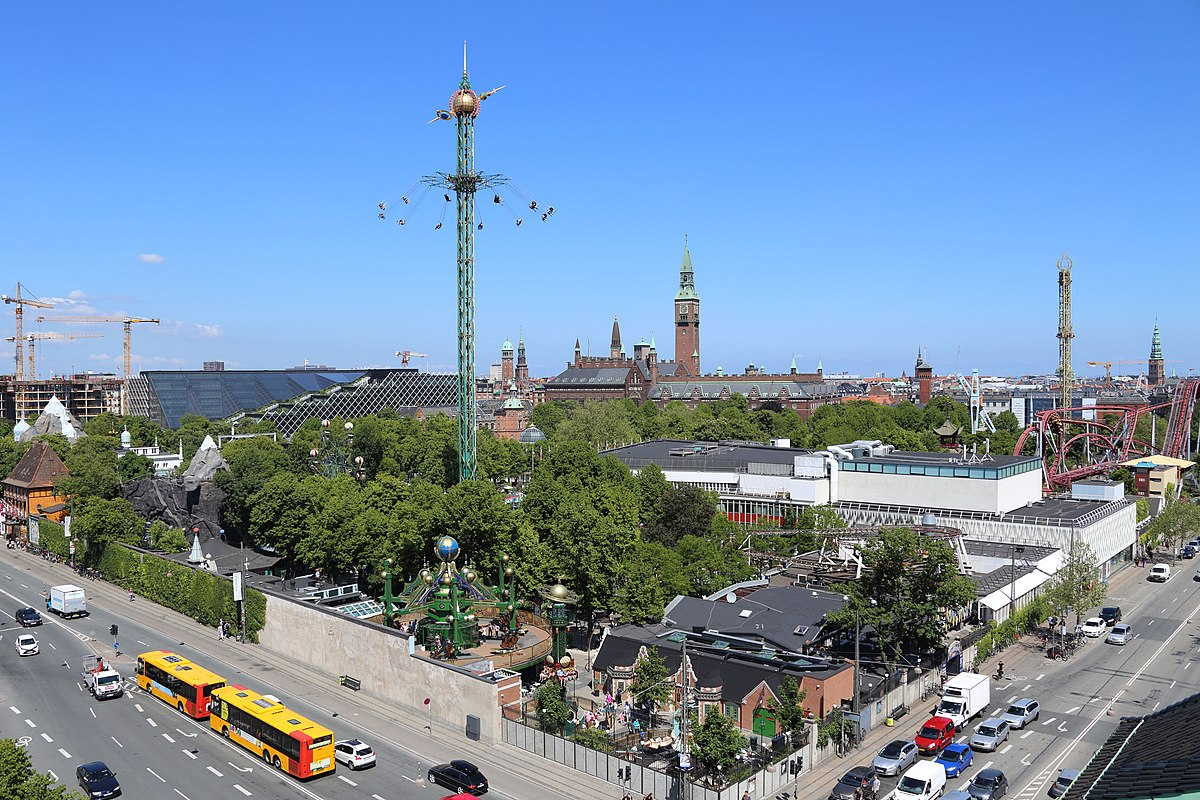 kort over tivoli