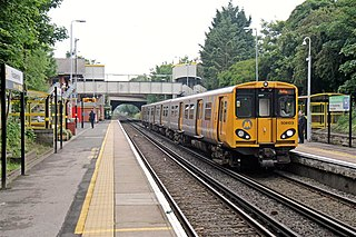 Fazakerley railway station Railway station on the Kirkby Branch of the Northern Line in Liverpool, England