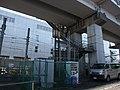 Tokaido Shinkansen maintenance workers stair - Sumiyoshi.jpg