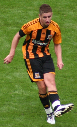 Tom Cairney - Cairney playing for Hull City in 2011