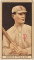 Tom Downey, Philadelphia Phillies, baseball card portrait LCCN2008677995.tif