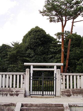 Emperor Yōzei - Memorial Shinto shrine and mausoleum honoring Emperor Yōzei, Kyoto