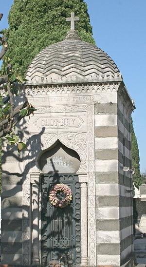 Antoine Clot - Tomb of Clot-bey at Marsilles, France.