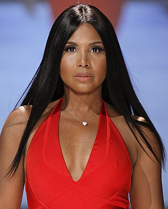 Toni Braxton - Braxton at The Heart Truth Red Dress Collection Fashion Show in 2013