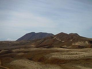 Tope de Coroa mountain in Cape Verde
