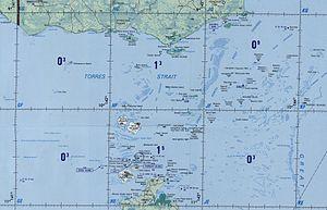 Karte der Inseln