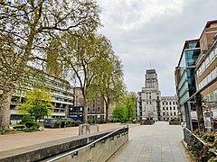 Torrington Square towards Senate House.jpg