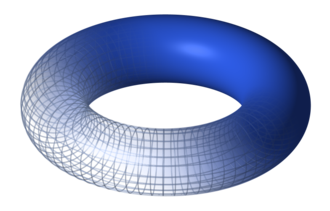 Algebraic topology - A torus, one of the most frequently studied objects in algebraic topology