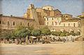 Torvet i Sulmona (Petersen).jpg