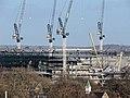 Tottenham Hotspur Football Club new ground construction January 2018 03.jpg