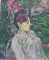 Toulouse-Lautrec - Im Grünen (Sitzende Frau in einem Garten).jpeg