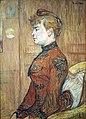 Toulouse-Lautrec Portrait Study of a Woman@Kunsthalle Hamburg.JPG