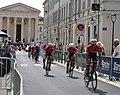Tour d'Espagne - stage 1 - Trek team 2.jpg