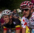 Tour de France 2011, alpedhuez, gilbert en vanendert (14683318050).jpg