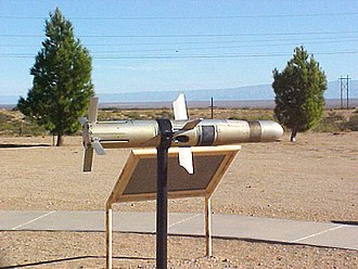 BGM-71 TOW - A TOW missile on display at the White Sands Missile Range Museum.