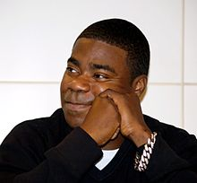 Actor and comedian Tracy Morgan.