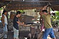 Traditional 'bolo' (cutting knife) making (9275225915).jpg