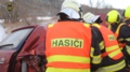 Traffic accident of car and train, Žlutice, Czech Republic 06.png